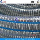 Линия машина трубы шланга спирали стального провода PVC штрангпресса