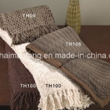 Сплетенное Super Soft Washable 100%Acrylic Throw Blankets