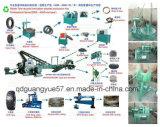 Volle Krume-Gummipflanze für den überschüssigen Reifen, der Maschine aufbereitet
