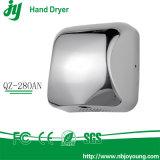 Aço inoxidável durável do secador automático comercial resistente superior da mão da alta velocidade 1800W da qualidade