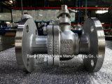 Q41f-16p 2PC ensanchó las vávulas de bola ISO-Dirige el postizo de montaje