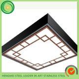 Miroir 201 repérant la plaque décorative de plafond de feuille de l'acier inoxydable 304 pour la décoration d'ascenseur