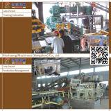 Польностью автоматическая производственная линия пустотелого кирпича