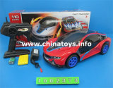 Plastic RC Car Toys, 4 CH Télécommande Car RC Model (1002374)