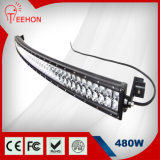 diodo emissor de luz Duplo-Row Light Bar de 50 '' 480W Curved Osram