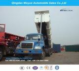 2개의 차축 Bogie 현탁액 큰 양 50 톤 덤프 팁 주는 사람 또는 기울이기 쓰레기꾼
