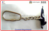 Изготовленный на заказ Keyrings Keychains металла сувенира