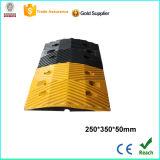 Corcunda de borracha amarela e preta da qualidade superior da velocidade com CE