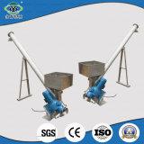 Système de convoyeur de vis de foreuse de la colle flexible de Yongqing petit