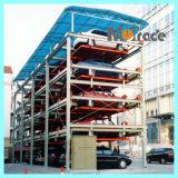 Sistema aprovado do estacionamento do controle do PLC do CE