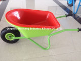 Pneumatic WheelのChildrenのプラスチック庭Wheelbarrow