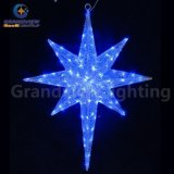 세륨 RoHS를 가진 Holiday Decoration를 위한 옥외 Decoration Christmas Ornament LED String Star Light