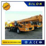 중국 좋 가격 (QY20B를 가진 20t에 의하여 거치되는 트럭 기중기. 5)