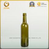 bottiglia di vino di vetro del Bordeaux 375ml con il coperchio a vite (004)