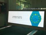 Anúncio superior do táxi da cor cheia 3G/4G GPS de indicação digital do diodo emissor de luz P3