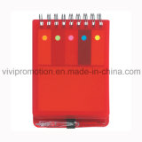 Cuaderno espiral modificado para requisitos particulares de la cubierta de los PP/pista de nota de papel para la promoción (PPN231)