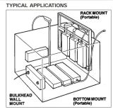 Bloco do transdutor do ultra-som com o gerador para as peças de maquinaria