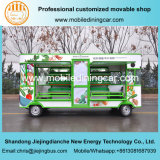 Трейлер доставки с обслуживанием Плодоовощ-Овоща хорошего качества электрический передвижной