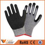 Gants de jardin Latex Gants de sécurité revêtus de gants Gants de caoutchouc lavables Gants de travail Gants de travail colorés