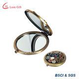 Espejo barato fácilmente llevado del maquillaje del bolsillo del recuerdo para el recorrido