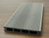 Composto plástico WPC do revestimento natural da plataforma da cor WPC