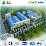 Constructeurs d'acier de construction pour le bureau de construction d'entrepôt d'atelier