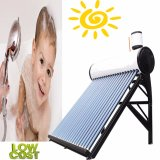 Sistema de calefacción de agua solar pre-calentado (Copper Coil calentador de agua solar)
