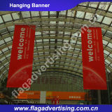 Фабрика флагов знамени гибкого трубопровода печатание цифров изготовленный на заказ рекламируя вися