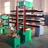 Vier Spalte-Gummivulkanisierenpresse Xlb-350X350X2