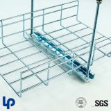 Steel di acciaio inossidabile 304 316L Wire Mesh Basket Cable Tray