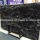 Комната дела стола Nero Marquina черная мраморный