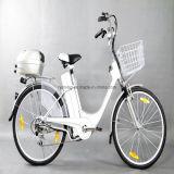 """"""" bici eléctrica de la ciudad de la pulgada 26 con Shimano 6 velocidades"""