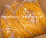Alta calidad Brown FKM / FPM / Viton Cordones de goma & O Anillo Cables y bandas de sellado (FMD004-01)