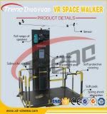 2do Plataforma que recorre de Vr de la generación con el simulador de Vr del receptor de cabeza de HTC para la alameda de compras