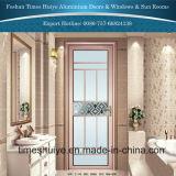 puerta de aluminio del cuarto de baño del color rosado de 1.0mm~2.0m m