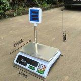 Precio que computa la escala electrónica con poste