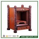 나무로 되는 포도주 상자를 래커를 칠해 특별한 디자인 매트