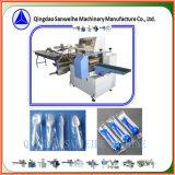 Горизонтальный тип пластичная машина упаковки людей и ножа автоматическая