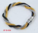 GoldRound Net Edelstahl Chain für Bracelet
