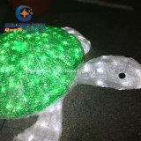 Nuova tartaruga di mare della decorazione LED del parco a tema di disegno 2016
