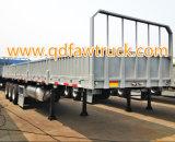 4개의 차축 대량 화물 & 반 콘테이너 트럭 트레일러