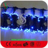 Licht van het Koord van de Fee van de Decoratie van LEIDENE Kerstmis van de Vakantie het Kleurrijke