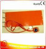 De Verwarmer 110V AC 1800W van de Mat van het silicone met Thermostaat 450*600*1.5mm van de Wijzerplaat