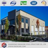강철 구조물 저장을%s 가진 전 설계된 정부 빌딩
