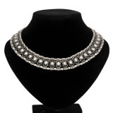 Glorie Diamond met Chain Necklace (XJW13368)