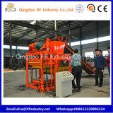 Bloc concret automatique de cavité de machine à paver de la brique Qt4-25 pleine faisant la machine
