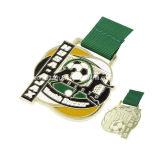 サッカーのイベントのためのカスタマイズされた金属メダル