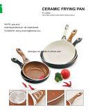 Сковорода покрынная ручкой алюминиевая Non-Stick для Cookware устанавливает Sx-A22