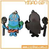 Aimant fait sur commande de réfrigérateur de PVC de logo pour promotionnel (YB-FM-01)