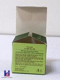 Rectángulo de regalo del embalaje de la cartulina de la impresión en color de los cosméticos